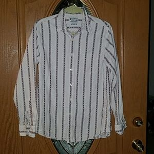 Lucky Brand western striped shirt Sz. Small